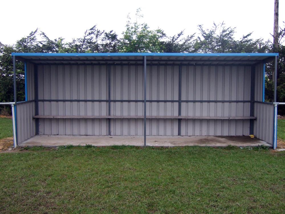 Sports Field Dugouts Breen Steel Sheds