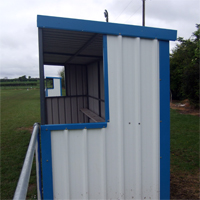 Sports Dugout Side View